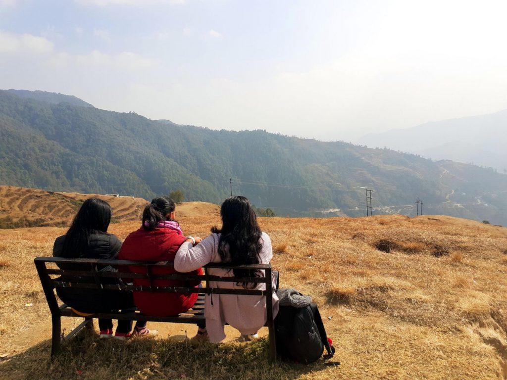 Way to Kathmandu, View from Kakani
