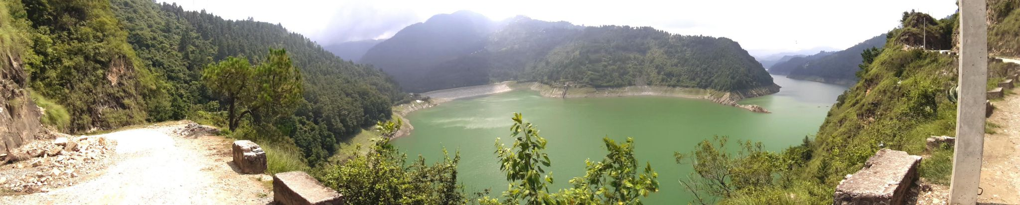 Panorama View of the Kulekhani Dam