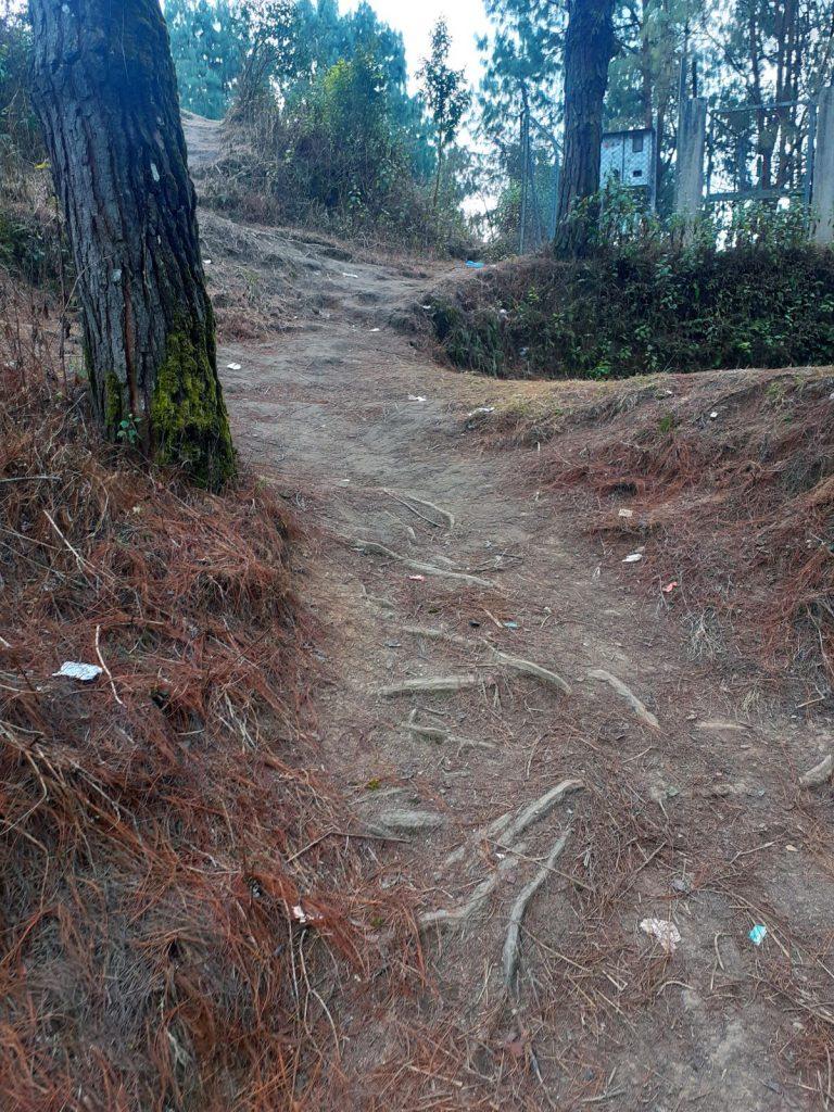Uphill to Kakani Picnic Spot