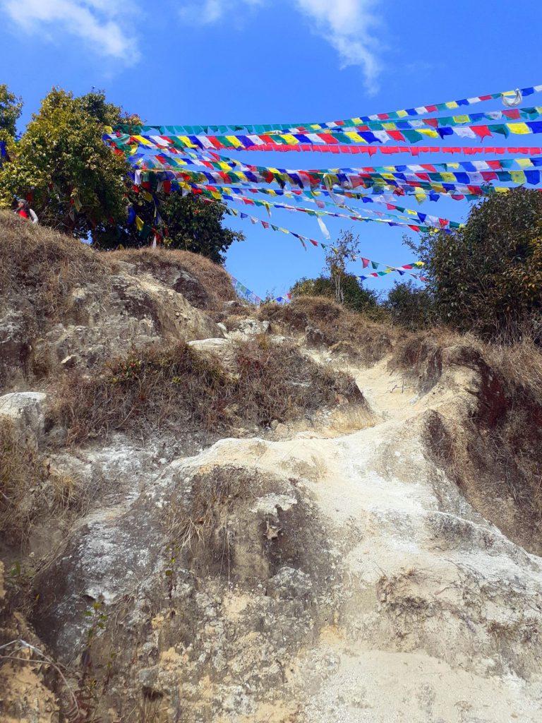 Uphill to Kakani Tower