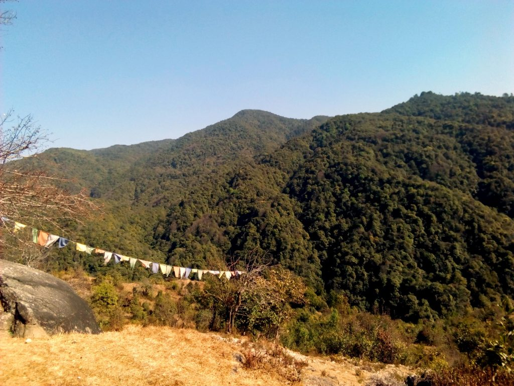 View from the way to Chisapani