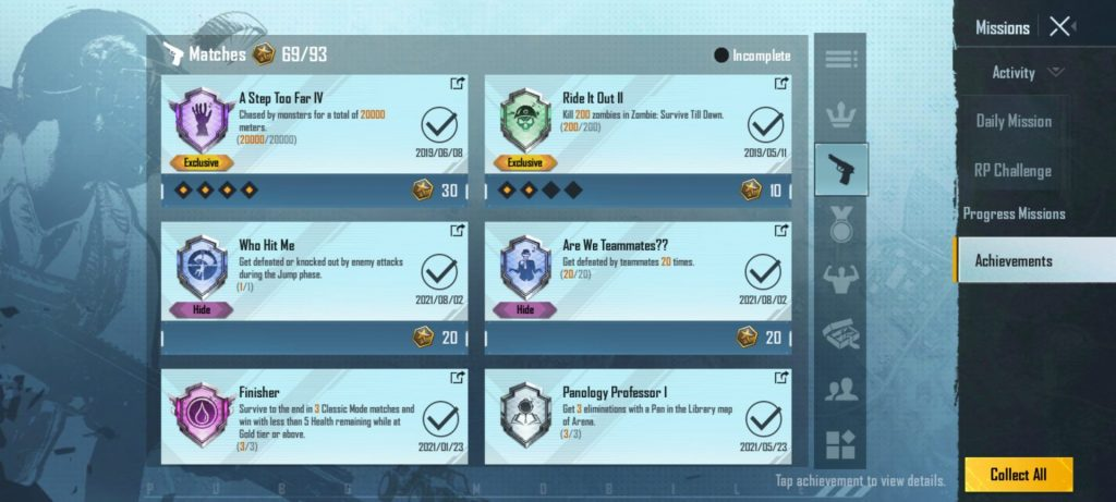 Are We Team Mates in achievements